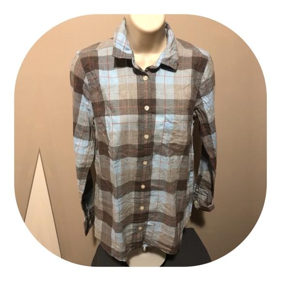 eafe3f1a J. Crew Tops | Nwt Jcrew Soft Plaid Flannel Button Down Shirt | Poshmark